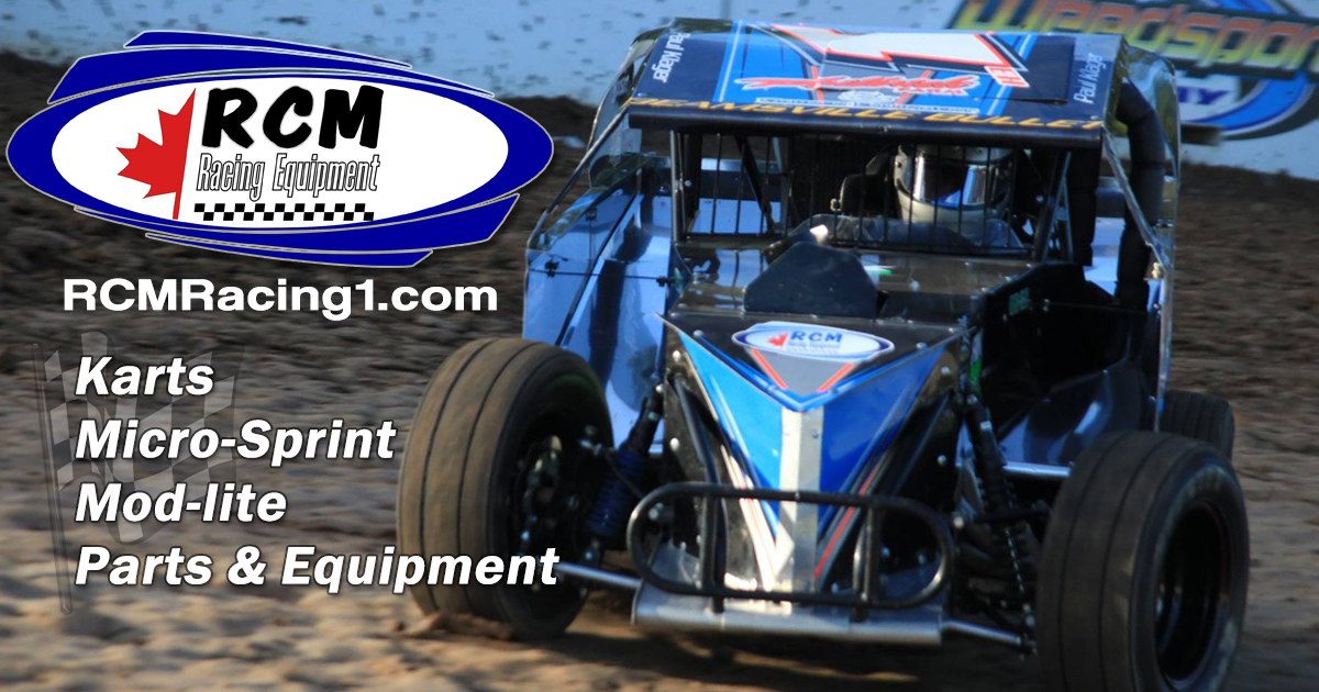 RCM Racing Equipment | Equipment for Karts, Mod-Lites and more