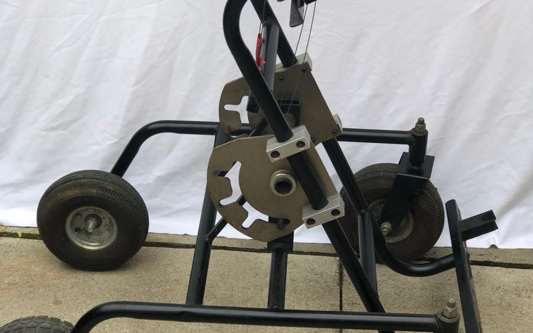 Mechanical Rolling Kart Stand
