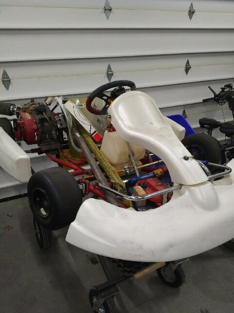 Race Ready 2013 Birel Kart Package