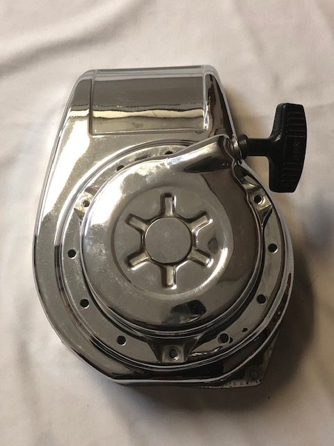 Honda G 200 Chrome Blower Cover & Recoil **SOLD**