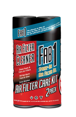 MAXIMA Air Filter Oil / Cleaner Combo